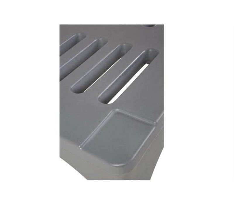 XXLselect Dunnage Rek / Rack - 91x56x30cm - Grijs
