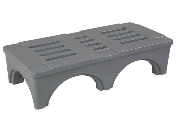 XXLselect Dunnage Rek / Rack - 121x56x30cm - Grijs