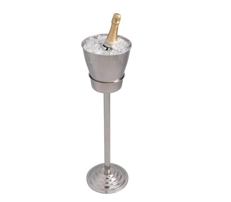 Bar Professional Wijnkoeler op standaard Palaia - enkelwandig - 21 x 84(h)cm