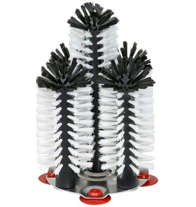 Bar Professional Spoelborstel aluminium voet 5-delig - 4x18+1x25