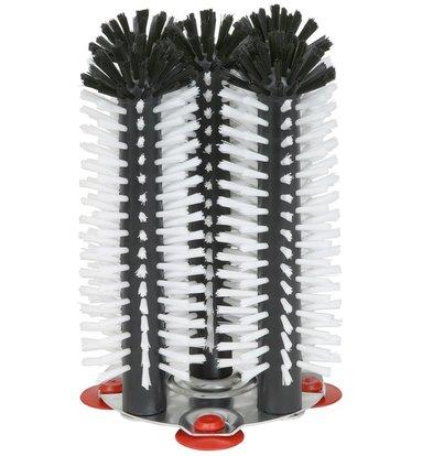 Bar Professional Spoelborstel aluminium voet 5-delig - 5x25cm