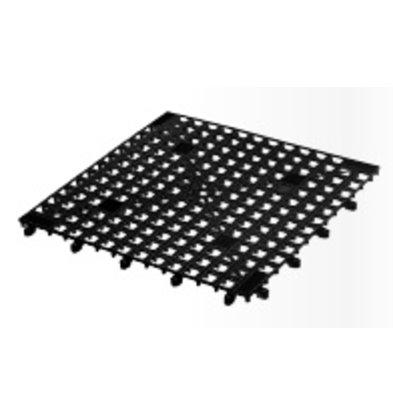 Bar Professional Glazenmatje schakelbaar - 33x33cm Zwart