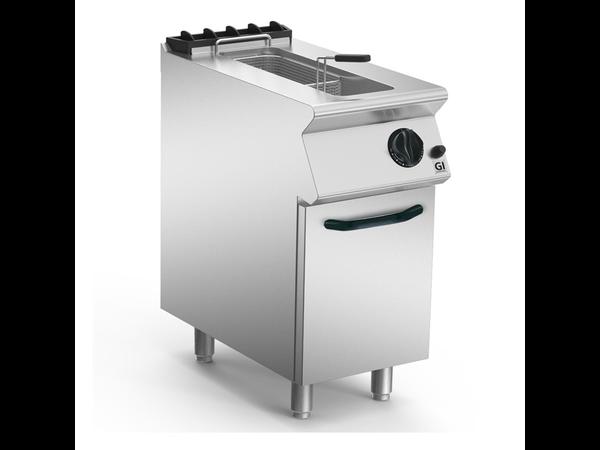 XXLselect 700 HP Gasfriteuse 15 Liter Open Torch Brander | 14 kW | 400x730x(H)870mm