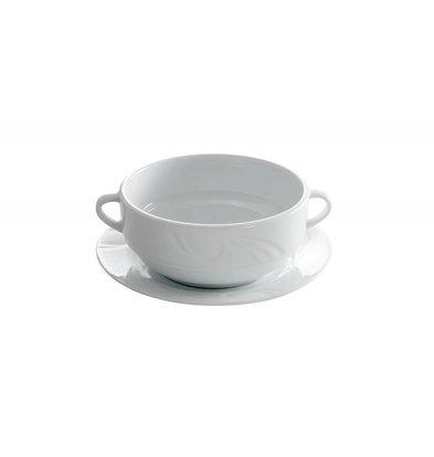 Hendi Soepkom - 120x155x55 mm - Karizma - 380 ml - Wit - Porselein