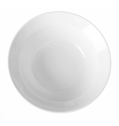 Hendi Saladeschaal - 150x45 mm - Saturn - Wit - Porselein