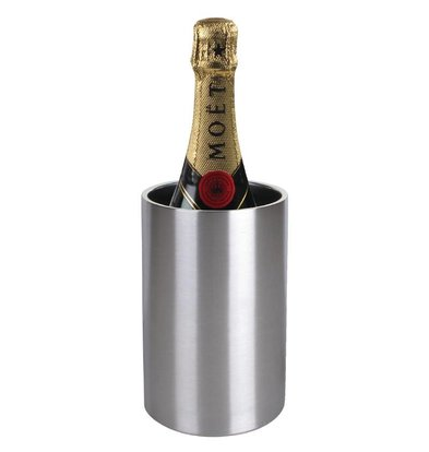 Olympia Wine cooler / Champagne cooler - Double-walled stainless steel - Ø12cm x 20 (H) cm