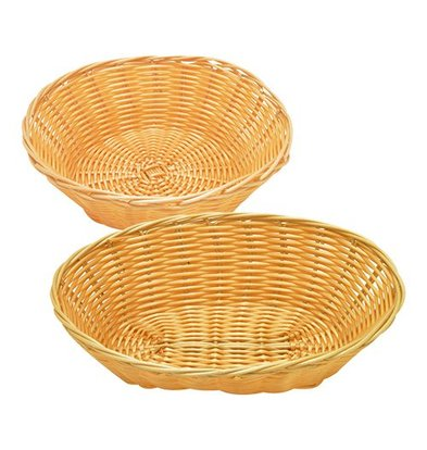 XXLselect Bread Basket Round - Plastic Reed - Ø 200mm