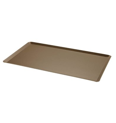 Bourgeat Griddle Aluminum   Nonstick   Angled Edge   1 / 1GN   530x325mm