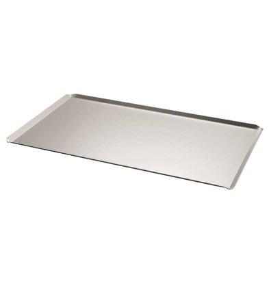 Bourgeat Griddle Aluminum Bevel - 1 / 1GN - 530x325mm