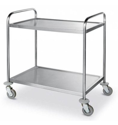Hendi Serving trolley - 2 blades - 900x590x (h) 930mm - 150Kg