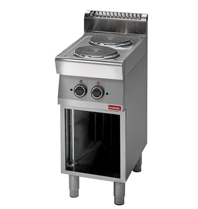 Modular Stove Modular 700 - Electric - 2 Pits - With Open Frame - 40x70x (h) 85cm - 4.8 kW - 400V