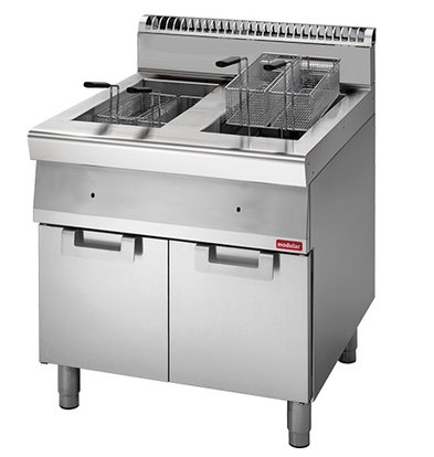 Modular fryer | gas | 700 Modular | 2x13 Liter | 20,4kW | With Mount | 70x70x (h) 85cm