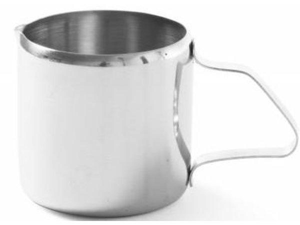 Hendi Roomkannetje RVS | 0.10 Liter | 50x55mm