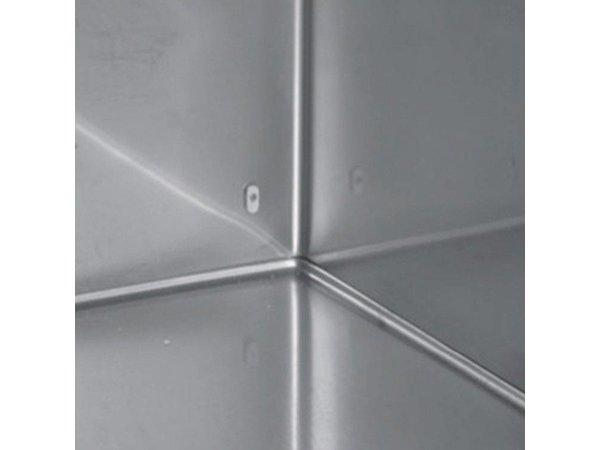 Inomak RVS Horeca Vrieskast - 654 Liter - 812 W - 72x83x(h)212cm