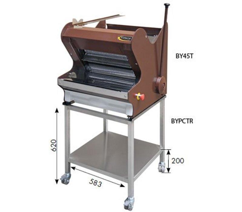 Sofinor Broodsnijmachine | Bruin tafelmodel | Semi-Automatisch | Brood via Bovenzijde | 490W
