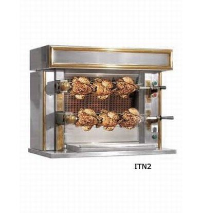 Sofinor Kippengrill 2 Spitten - Gas - 870x530x(h)722mm - 6 Kippen