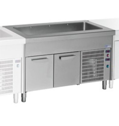 Diamond Cooled Heatsink Cockpit - 4x 1/1 GN - Refrigerated Cabinet - 0.5 kW - 1500x800x (h) 900mm