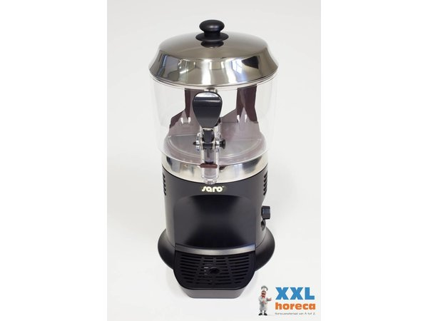 Saro Chocomelk Dispenser voor Warme Chocomel - 5 liter - Zwart of Wit - XXL AANBIEDING!