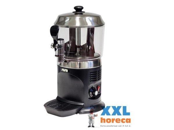Saro Chocomelk Dispenser for Hot Chocomel - 5 liters - Black - XXL OFFER!