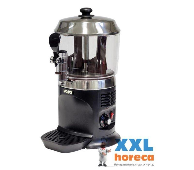 Saro Chocomelk Dispenser voor Warme Chocomel - 5 liter - Zwart - XXL AANBIEDING!