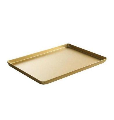 Hendi Tray Aluminium | Goud Kleurig | 600x400x(H)20mm