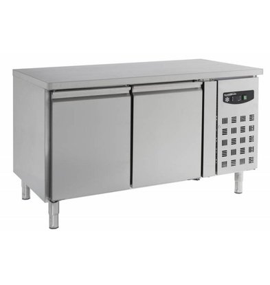Combisteel Baker Cool Workbench - 2 doors - 151x80x (h) 86cm - Schedules 600x400mm