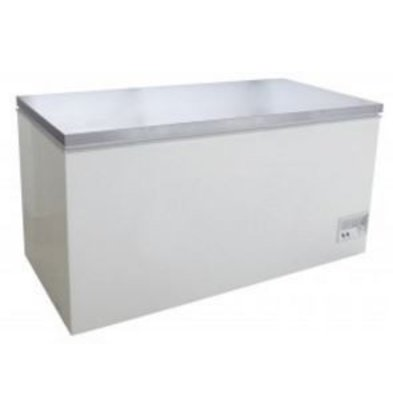 Saro Stainless steel Freezer - 133x70x (h) 83cm - 390 gallon