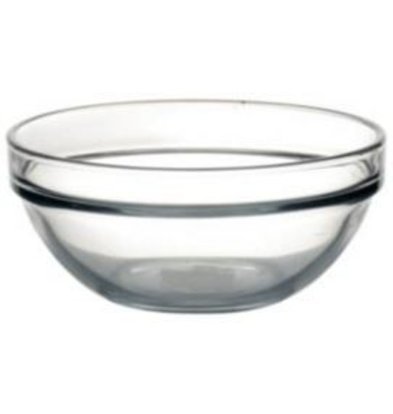 Arcoroc Glazen Kom - Gehard glas - 340ml - 12 cm Ø - Prijs per 6 Stuks