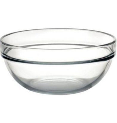 Arcoroc Glass Bowl - Tempered Glass - Price per 6 Pieces - 1,06Liter - Ø170mm