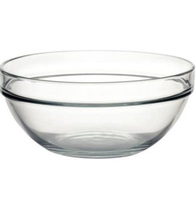 Arcoroc Glass Bowl - Tempered glass - Price per 6 Pieces - 2,5Liter - Ø230mm