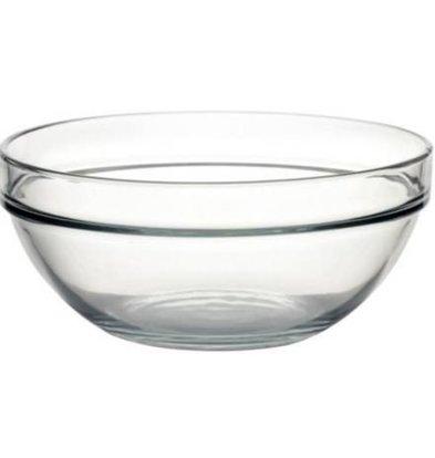 Arcoroc Glazen Kom - Gehard glas - Prijs per 6 Stuks - 2,5Liter - Ø230mm