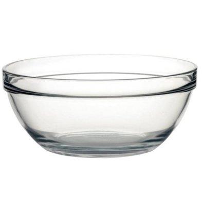 Arcoroc Glazen Kom - Gehard glas - Prijs per 6 Stuks - 3,9 Liter - Ø260mm