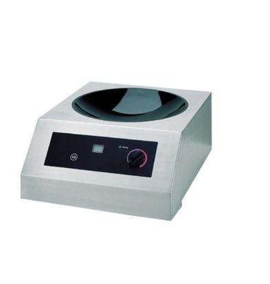 Saro Wok Inductie kookplaat 19 standen - 38,5x52x(h)24,5 - 3500W/230V
