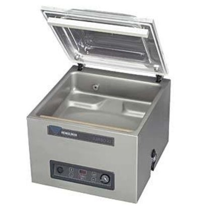 Henkelman Vacuum machine Boxer 42 - Dual Seal Balk | Henkelman | 021m3 / sec 15-35 | Dim. 320x420x room (H) 180mm