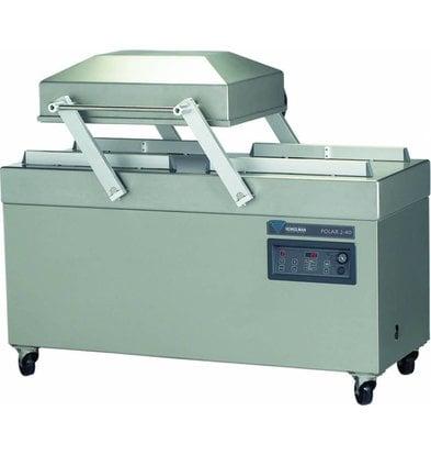 Henkelman Vacuum Machine Polar 2-40   Henkelman   63m3 / sec 15-40   Dim. 620x400x room (H) 240mm