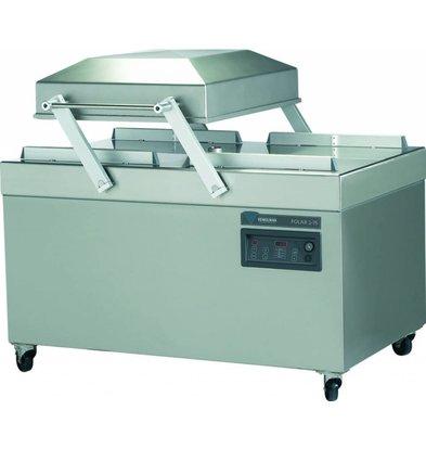 Henkelman Vacuum Machine Polar 2-75 | Henkelman | 160m3 / sec 15-40 | Dim. 620x750x room (H) 250mm