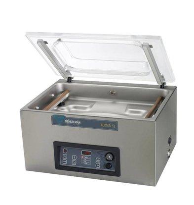 Henkelman Vacuum machine Boxer 52 - Dual Seal Balk | Henkelman | 021m3 / sec 20-40 | Dim. 360x520x room (H) 185mm