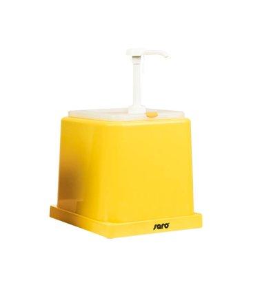 Saro Sauce Dispenser - Yellow - 2 Liter - Basic