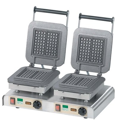 Neumarker Double Iron cooking apparatus | Stroopwafel, Brussels Waffle, Crepes, Lolly Waffle etc | 60x32x (H) 30cm