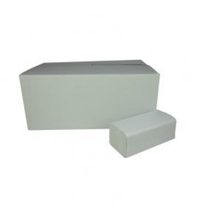 XXLselect Towels ZZ-fold | Recycled | 2 ply, 23 x 25cm | 20 x 160 sheets in Box | (also Pallets) Price per 3200 sheets