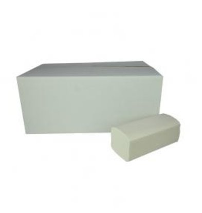 XXLselect Towels ZZ-fold | Cellulose | 2 ply, 23 x 25cm | 20 x 160 sheets in Box | (also Pallets) Price per 3200 sheets