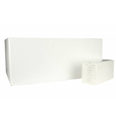 XXLselect Handdoekes X-press | Cellulose | 2 ply, 27 x 22cm | 18 x 170 sheets in Box | (also Pallets) Price per 3060 sheets