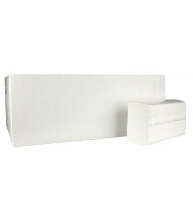 XXLselect Handdoekjes X-press | Cellulose | 2 laags ,24 x 24cm | 25 x 150 vel in Doos | (ook Pallets) Prijs per 3750 Vellen