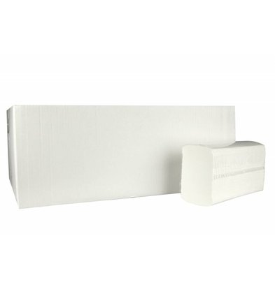 XXLselect Towels X-press | Cellulose | 2 ply, 24 x 24cm | 25 x 150 sheets in Box | (also Pallets) Price per 3750 sheets