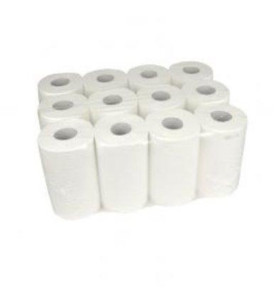 XXLselect Handdoekrol Mini | Cellulose | 2 laags | 20cm 12 x 72 meter op Rol 55 colli per pallet