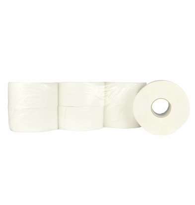 XXLselect Toiletpapier Mini Jumbo | Cellulose | (ook Pallets) Prijs per 12 x 180 meter | ECO-Label
