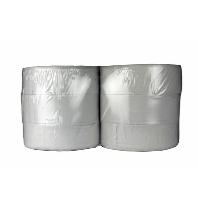 XXLselect Toilet Maxi Jumbo | Recycled 2 layer | (Including pallets) Price per 6 x 380 meters