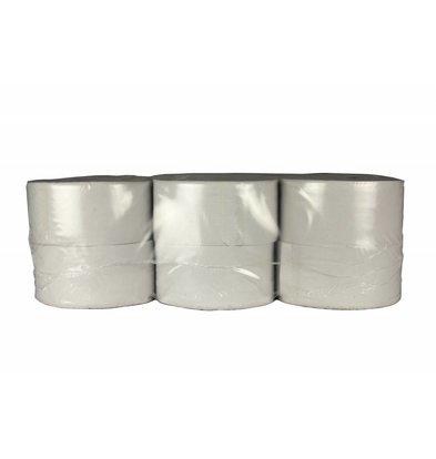 XXLselect Toiletpapier Mini Jumbo | Recycled 2 laags | (ook Pallets) Prijs per 12 x 180 meter