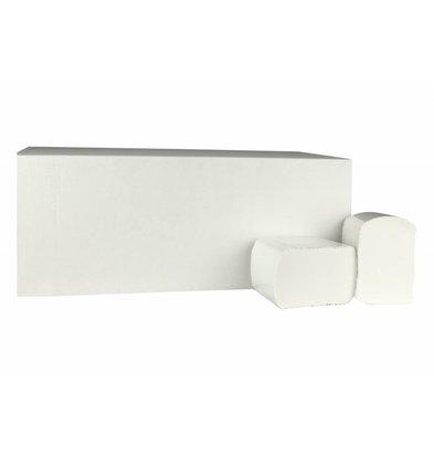 XXLselect Toiletpapier Bulkpack | Cellulose | 2 laags, 11 x 18cm | 40 x 225 vel in Doos | (ook Pallets) Prijs per 40 Dozen