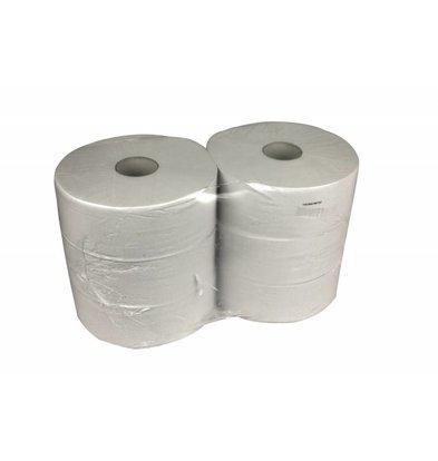 XXLselect Toiletpapier Maxi Jumbo | Recycled 1 laags | (ook Pallets) Prijs per 6 x 525 meter